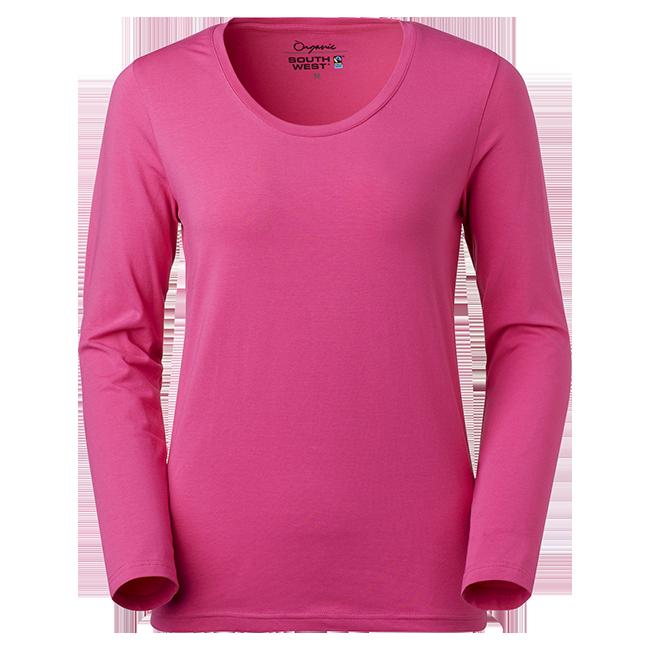 T-Shirt lång ärm Dam Ekologisk f0d1ec779ab71