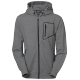 Hoodie Zip Madison m Valfri text